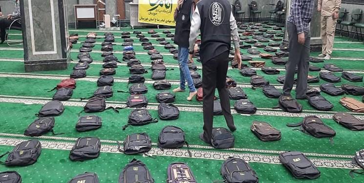 توزیع سه هزار و ۵۰۰ بسته نوشت افزار توسط جهادیها در خوزستان